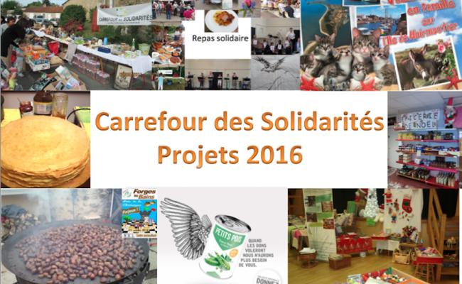 Manifestations et animations en projet pour 2016