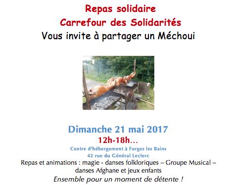 CdS repas solidaire 2017