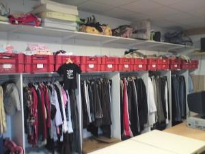 Choix de vêtements variés