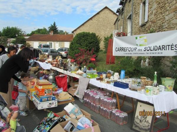 Brocantes 2012 – stand du Carrefour des Solidarités