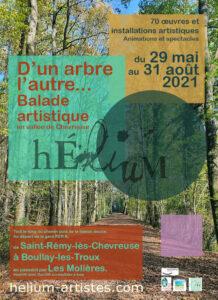 2021 Hélium d'arbre en arbre