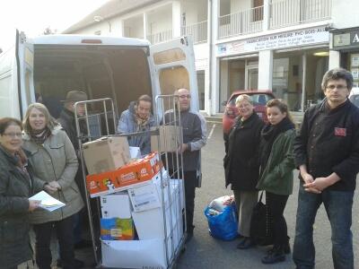 Semaine de la Solidarité 2013 : collecte alimentaire à Bruyères-le-Châtel