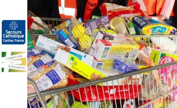 5 avril 2014 : collecte alimentaire au profit du Carrefour des Solidarités