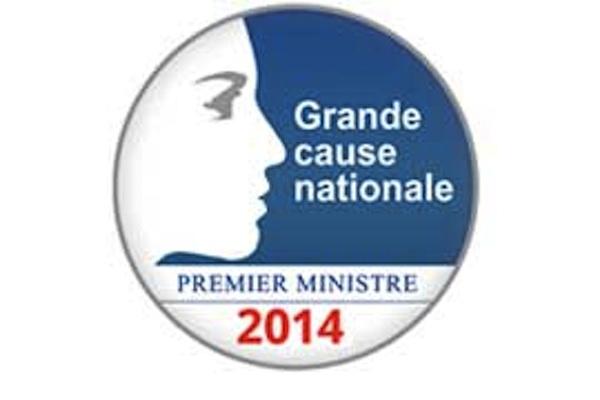 """L'engagement associatif déclaré """"Grande cause nationale 2014""""."""