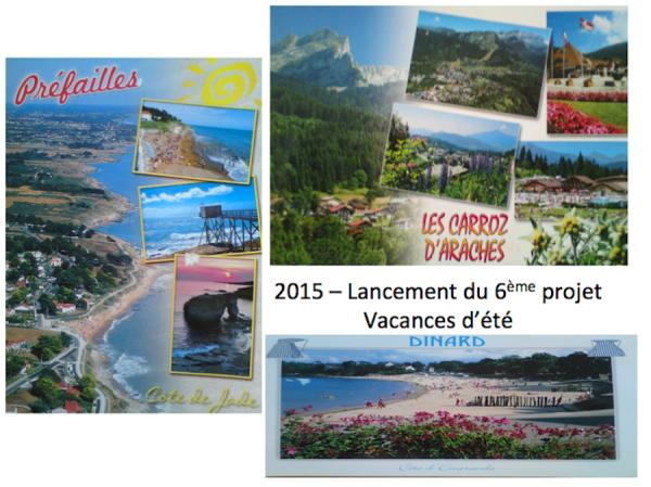 Lancement du projet vacances d'été 2015