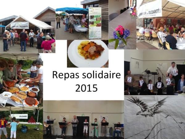 Repas solidaire, dimanche 14 juin 2015