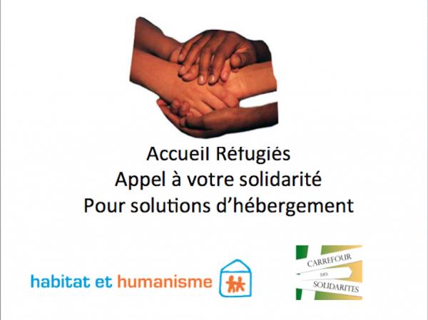 Accueil Syriens-Irakiens : Entraide pour solutions d'hébergement