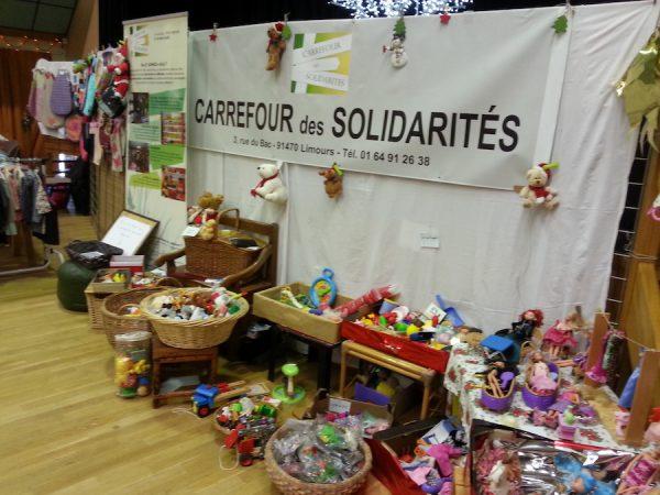 Marché de Noël 2016 – stand Carrefour des Solidarités