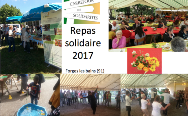 Repas solidaire, dimanche 21 mai 2017