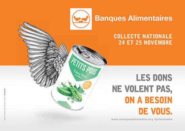 Résultat de la Collecte Alimentaire des 24 et 25 novembre 2017