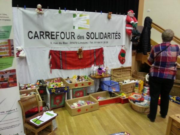 Marché de Noël 2017 – stand Carrefour des Solidarités