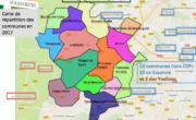 Liste des communes en 2017