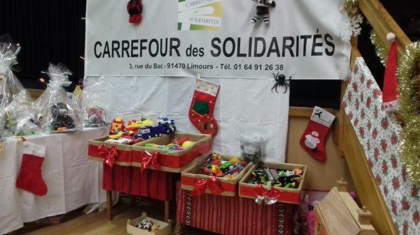 Marché de Noël 2018 – stand Carrefour des Solidarités