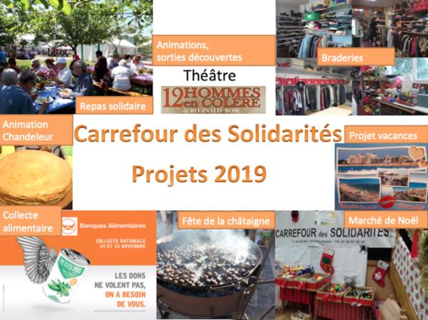 Manifestations et animations en projet pour 2019