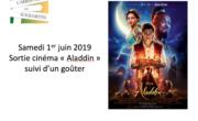 Samedi 1er juin 2019: sortie cinéma