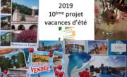 Projet vacances 2019 – Bilan