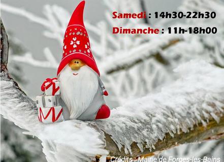 Marché Noël 2019 Forges les bains