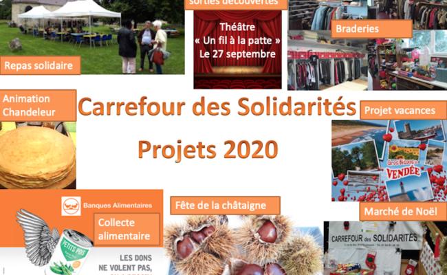 Manifestations et animations en projet pour 2020