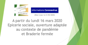 CdS pandémie adaptation service 21 03 2020
