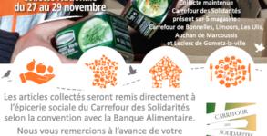 Collecte alimentaire Nov 2020