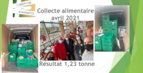 CdS collecte alimentaire avril 2021