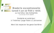 Samedi 5 juin 2021 : Braderie exceptionnelle